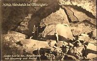 UFTRUNGEN Harz ~1910/20 Heimkehle alte AK Photo Aufnahme Oskar Ohm Nordhausen