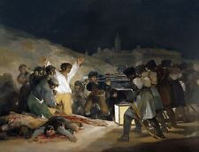 """The Third Of May 1808 by Francisco Goya, 12""""x16"""", Giclee Canvas Print"""