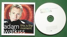 Adam Watkiss This Is the Moment Absolutely Excellent Condition CD