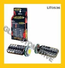 N.2 Lampade LED SMD CANBUS Error Free LUCE BIANCA 12V/3W T10 -Bax9s - Racesport