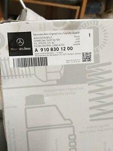A910 830 12 00 Mercedes Benz W907 Sprinter AC Charcoal Combination Filter...