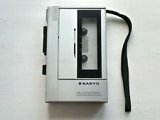 More details for vintage sanyo m1010 cassette player and recorder