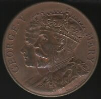 1911 George & Mary Coronation Medal 'Wimbledon' | Pennies2Pounds