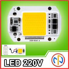 Chip LED 220V 30W LUCE CALDA BIANCO Alta Luminosità 3000K ricambio faro led