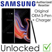 Samsung Galaxy Note 9 N960U Sprint AT&T T-Mobile Verizon Factory Unlocked New