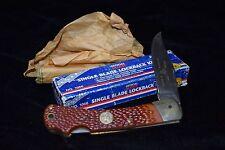 Vintage USA Camillus Official Boy Scout Knife Lockback No 1066 Pattern # 893