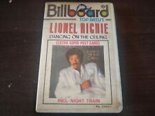 LIONEL RICHIE - Dancing On The Celing CASSETTE TAPE / Made In Indonesia