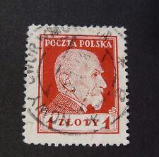 "POLONIA,POLAND,POLSKA 1924 ""Presidente Wojciechowki"" 1 z. rosso Cpl set USED"