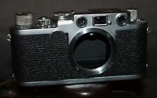 Vintage LEICA IIF Rangefinder Camera Body RED DIAL 1/500