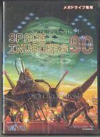 SPACE INVADERS 90 Mega Drive SEGA Genesis Game Japan md