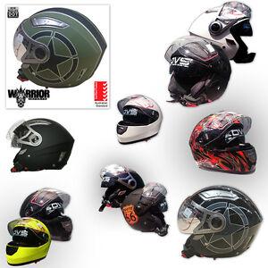 Road Helmet, Open & Full Face, VARIOUS COLOURS, AS1698, 5 Tick AUSTRALIAN STD