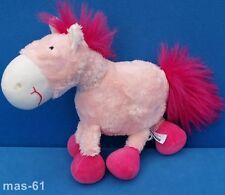 SIGIKID PFERD SWEETY PONY 37815 STOFFTIER 33 CM SCHLENKER ROSA HORSE