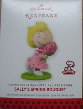 Hallmark 2013 - Happiness is Peanuts All Year Long-Sally's Spring Bouquet-NEW