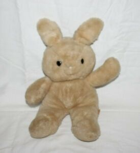 "Vintage 1979 Dakin Bunny Stuffed Plush Animal 18"" Brown Rabbit Tan Cuddles HTF"