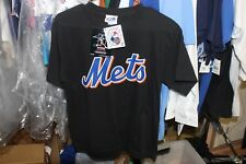 New York Mets Youth Large T-Shirt - Majestic NWT Licensed 57 Santana Black