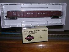 "L.L./P2K #21485  P.& L.E. 52'6"" Drop End Gondola Car #41652 Built-up  H.O."