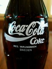 Coca-Cola 6.5 FL OZ Commemorative bottle The Real Thing Around The World Sweden