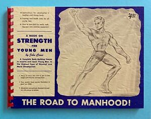 THE ROAD TO MANHOOD body-building course / exercises health rules for young men