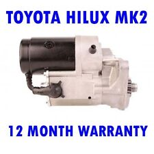 TOYOTA HILUX MK2 MK II 2.4 1984 1985 1986 1987 1988 - 2005 STARTER MOTOR