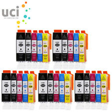 25 Ink Cartridges For Canon Pixma MG5150 MG5250 MG5350 MG6150 MG8250 MX715