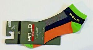 Polo Ralph Lauren Men's POLO SPORT Performance Socks Low Cut NWT