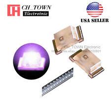 100PCS 0603 (1608) Purple/UV Light SMD SMT LED Diodes Emitting Ultra Violet USA
