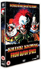 KILLER KLOWNS CLOWNS FROM OUTER SPACE DVD Grant Cramer Suzanne Snyder UK New R2