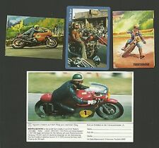 Dirt Bike Biker Bar Motorcycle En Ruta Todo Terreno Agostini Fab Card Collection