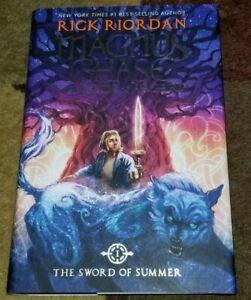 MAGNUS CHASE AND THE GODS OF ASGARD Rick Riordan SWORD OF SUMMER Book #1 1st Ed