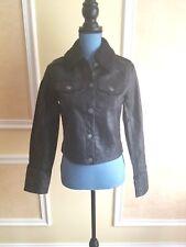 Hollister Faux Leather Biker Jacket S