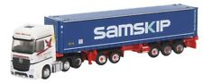 N Scale Truck, tractor w/ container hauler - Mercedes Benz Actros