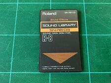 Roland SN-R8-03 Sound Effects ROM CARD FOR ROLAND R8 R-8 MKⅡ Free Shipping!!