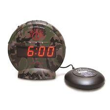 Sonic Alert Bunker Bomb SBC575SS Dual Alarm Clock w/Bed Shaker