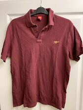 2006/2007 Arsenal red currant polo football shirt XL men's AFC