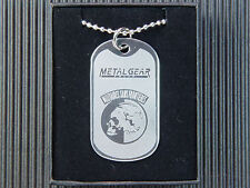 Metal Gear Solid Militaires Sans Frontieres Dog Tag Necklace
