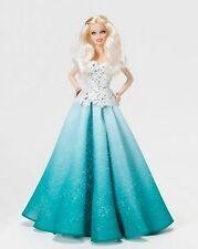 2016 Holiday Barbie Blonde Peace Hope Love Collection