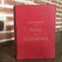 Urbain-Dubois Escuela Las Cocina Ernest Flammarion S. D