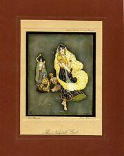 AUTHENTIC VINTAGE JENNIE HARBOUR LITHOGRAPH PRINT C. 1917 - 1927 (No. 24)