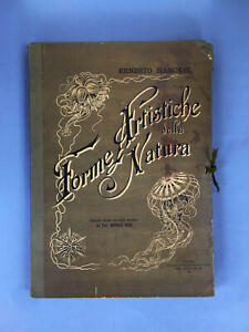 Ernst Haeckel Forme artistiche della natura 1901 Ed It Prof. Daniele Rosa