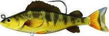 New LiveTarget Yellow Perch Swimbait  4 1/2 3/4 oz gold/olive YPS113MS713