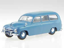 Skoda 1201 Kombi 1954 blau Modellauto WB283 Whitebox 1:43