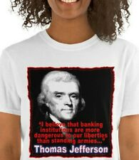 Thomas Jefferson Banking Quote T, Jefferson Founding Father T, Unisex T-Shirt