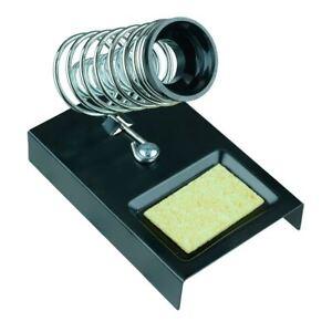 Soldering Iron Holder Spring Stand with Sponge Solder Electronics