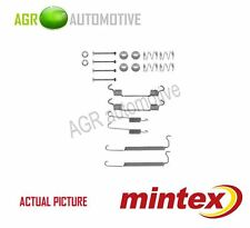 MINTEX REAR BRAKE SHOES SET FITTING KIT PIN SPRINGS GENUINE QUALITY - MBA849