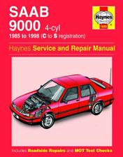 Saab 9000 1985-1998 Haynes Repair Manual Workshop Manual Service Repair