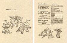 Transformers SNARL DINOBOT G1 US Patent Art Print READY TO FRAME Ohno 1984