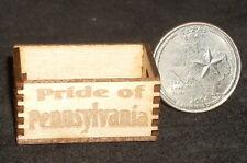 Dollhouse Miniature Pride of Pennsylvania Produce Crate 1:12 Food Market Store