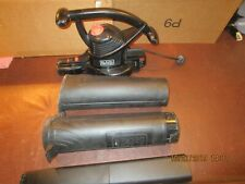 BLACK & DECKER BLOWER/VAC, MODEL# BV3100