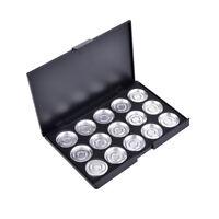 15x26MM Empty Eyeshadow Panel Aluminum Palette Pans Removable Makeup Tool DSUK