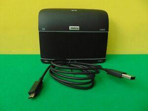 Jabra Freeway HFS100 Bluetooth In-Car Speakerphone, FM Transmit, Charge Cable